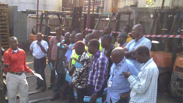 Forklift training in Lagos with Rholuck Services Nigeria Limited 01