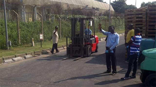 Forklift training in Lagos with Rholuck Services Nigeria Limited 02