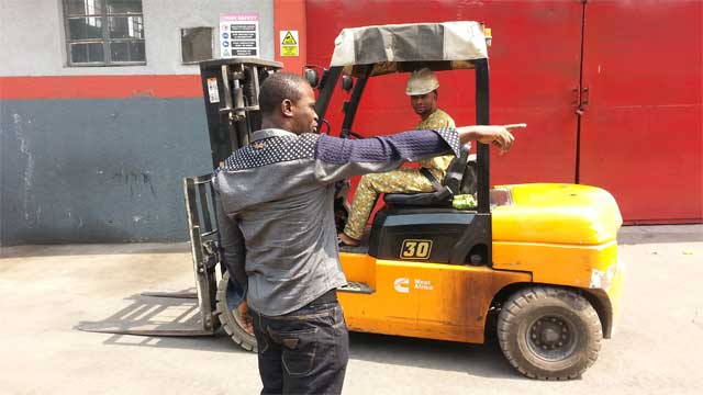 Forklift training in Lagos with Rholuck Services Nigeria Limited 03