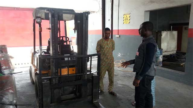 Forklift training in Lagos with Rholuck Services Nigeria Limited 05