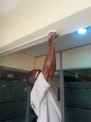 Fire Fighting System Installation in Lagos by Rholuck Services Nigeria Limited